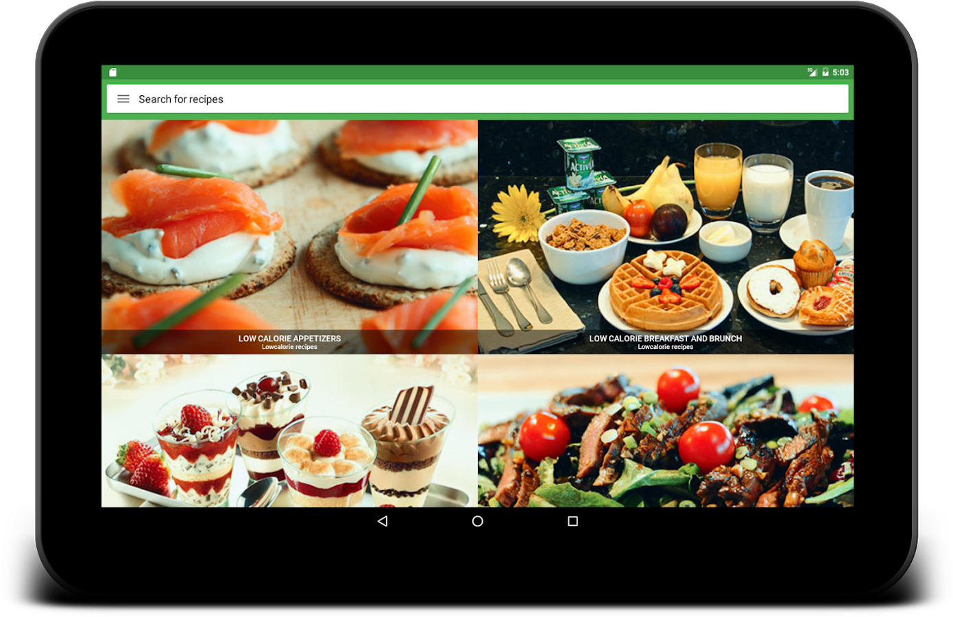 Low Calorie Recipes - Android Apps on Google Play