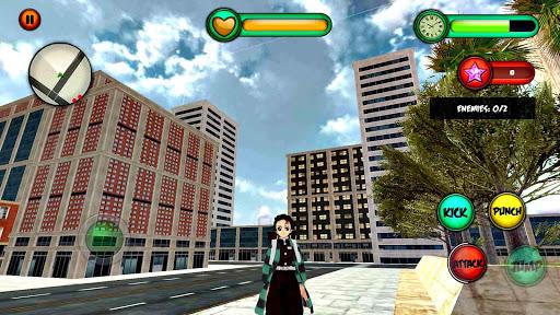 Tanjiro Fighting -The Demon slayer☘️ 4.0 screenshots 2
