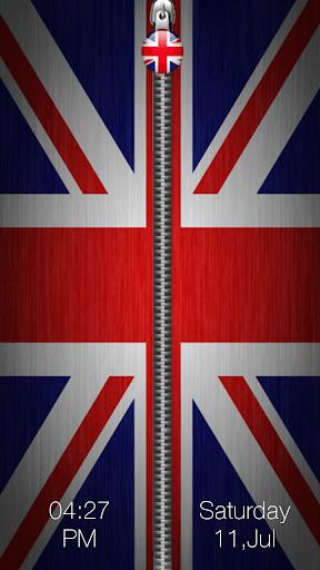 英国旗ジッパーロック
