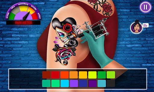 Virtual Artist Tattoo Maker Designs: Tattoo Games 1.6 screenshots 1