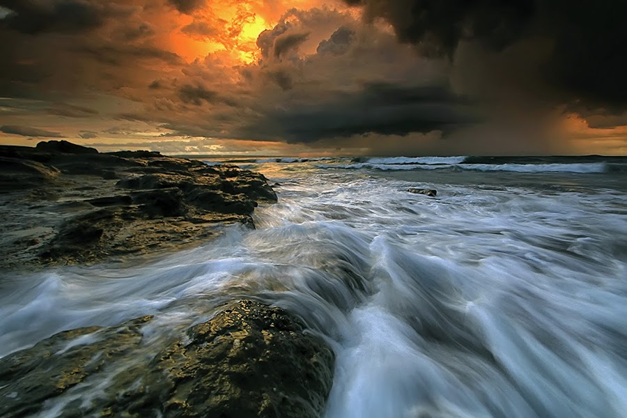 by Agoes Antara - Landscapes Weather ( pwcstorm-dq, waterscape, weather, cloud, pwcstorm, landscape )