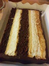 Photo: Nikki's Heaven and Hell cake