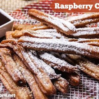 Raspberry Churros