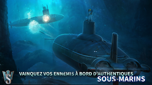WORLD OF SUBMARINES: Jeu de bataille navale en 3D fond d'écran 2
