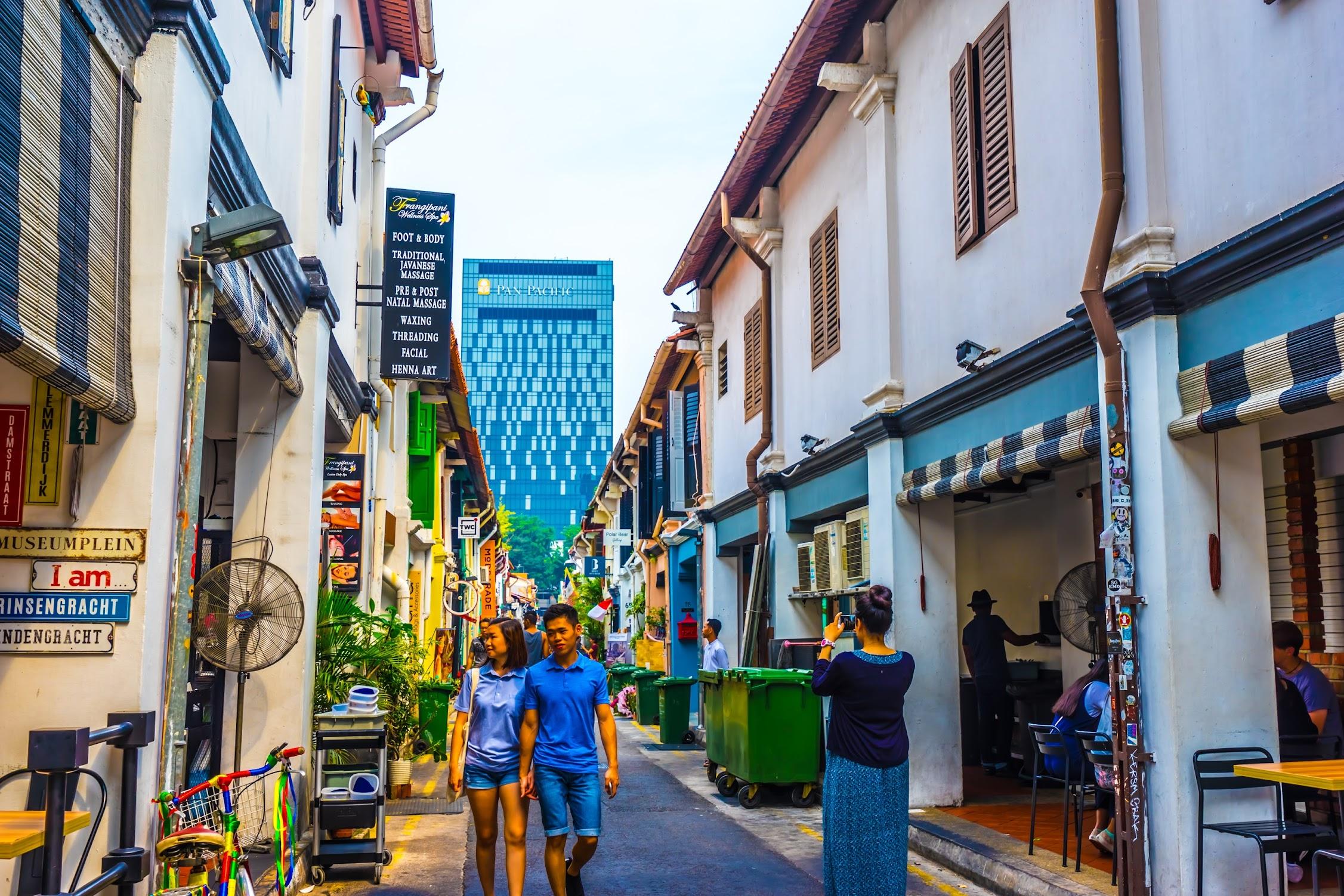 シンガポール アラブ・ストリート ハジ・レーン2