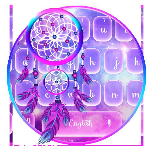 Salmon  Dream Catcher Keyboard Theme Icon