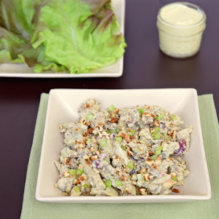 Curry Chicken Salad Without Mayonnaise.