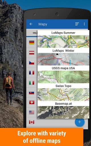 Locus Map Free - Hiking GPS navigation and maps Apk 1