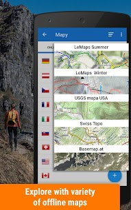 Locus Map Free – Hiking GPS navigation and maps 1