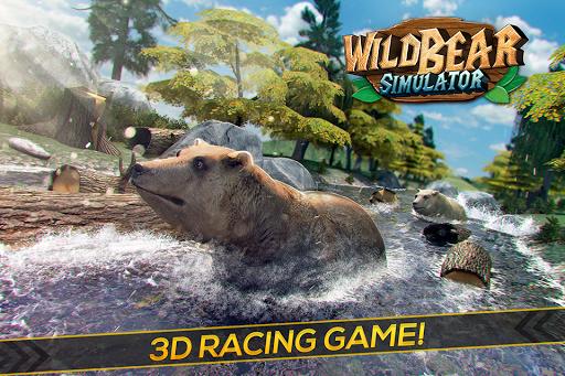 Wild Bear Simulator Games 3D