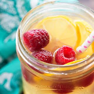 Raspberry Vodka Lemonade.