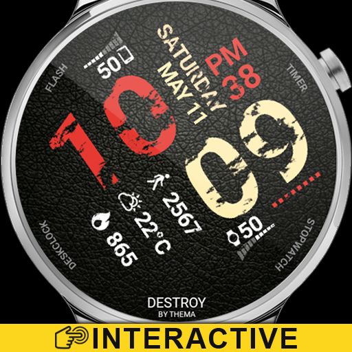 Destroy Watch Face Icon