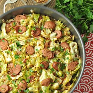 Fried Cabbage with Kielbasa – Low Carb, Gluten Free.