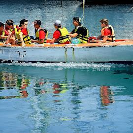 telaviv by Catalino Adolfo   Jr. - Transportation Boats ( boats, transportation )