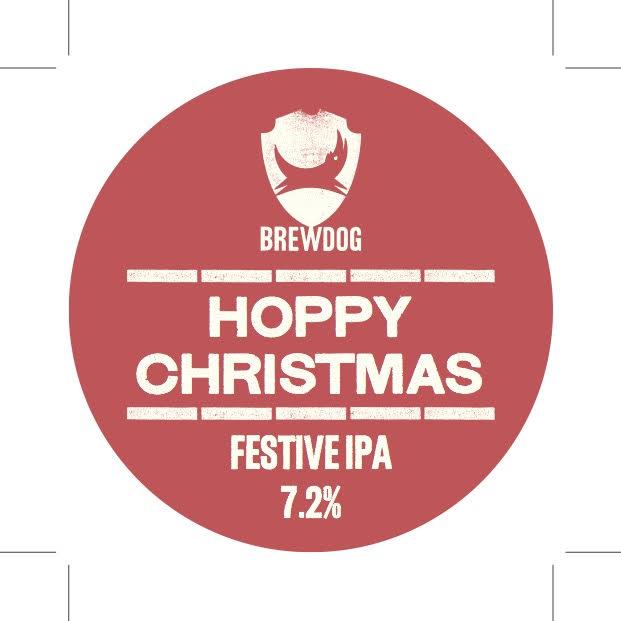 Logo of Brewdog Hoppy Christmas