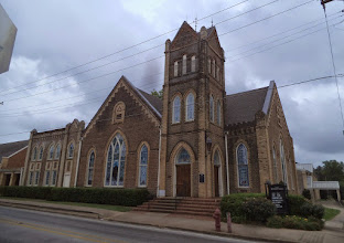 Photo: First Methodist Church, Crockett