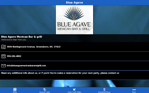 Blue Agave screenshot 2
