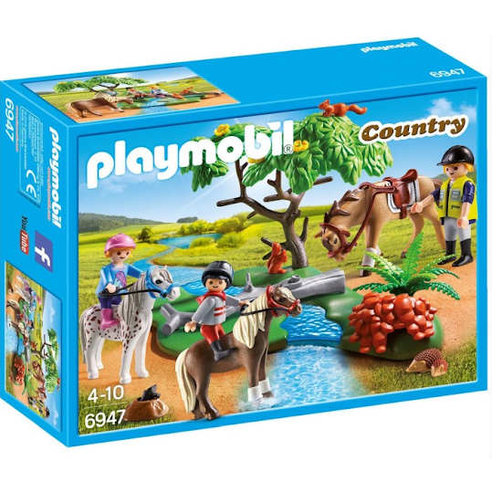 Playmobil Country Ponny ridlektion- 6947