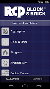RCP Product Calculators- screenshot thumbnail