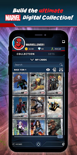 Marvel Collect! by Toppsu00ae Card Trader apktram screenshots 1
