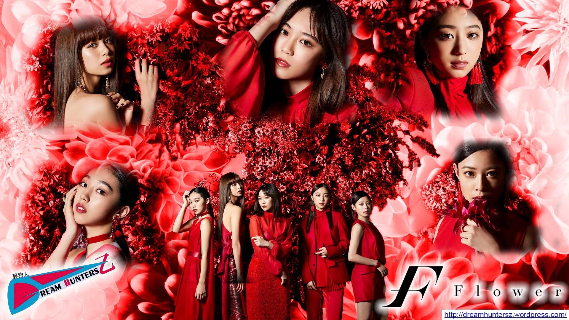 """Montagem feita por mim com a Imagem promocional do single """"Kurenai no Dress""""."""