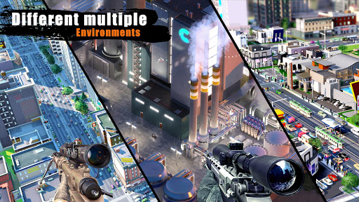 FPS Sniper 3D Gun Shooter Free Fire:Shooting Games apktram screenshots 2