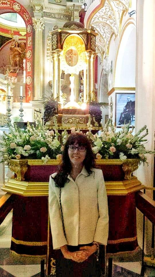 María Jesús Mata Carretero, expregonera de la Hermandad.