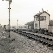 Photo: Bruern Crossing box (1970?)