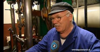 Photo: Hans wordt geinterviewd door Omroep Zeeland