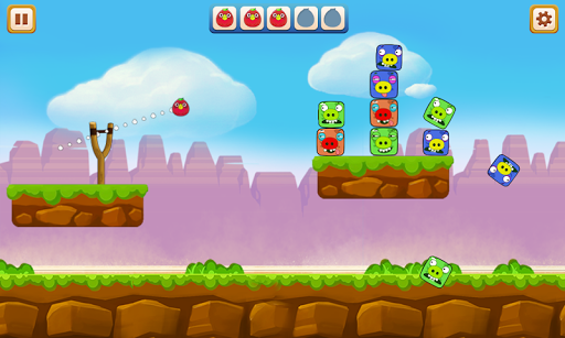 Angry Chicken - Knock Down 2.1 screenshots 1