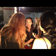 Photo: Top model Liu Wen backstage at New York Fashion Week Spring 2013 - Which shows are you excited to see?
