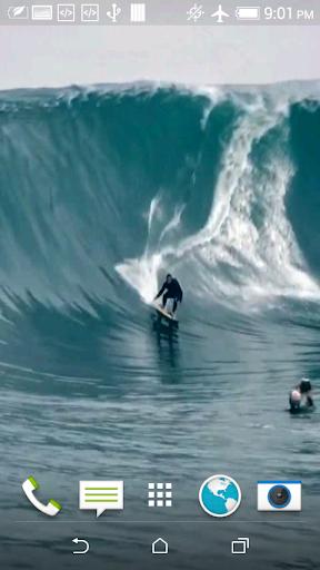 Surfing Video Wallpaper