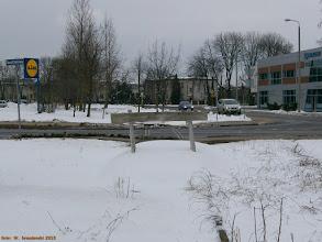 Photo: Kozioł oporowy na dawnej linii do Czarnowa {Toruń Północny; 2013-04-02}