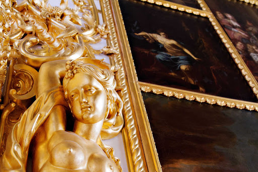 Azamara-Catherine-Palace3-Pushkin-Russia.jpg - Catherine Palace,  near St. Petersburg, was the summer residence of Russian czars.