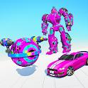 Paintball Robot Transform: Robot car Games icon
