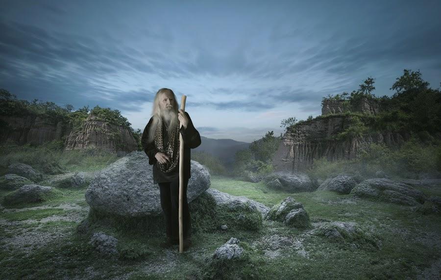 Stone People by Iwan Setiawan - Digital Art People