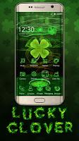 screenshot of Lucky Clover 3D Theme for LG