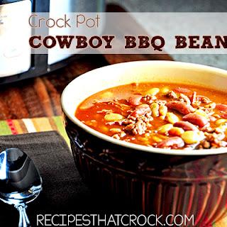 Crock Pot Cowboy BBQ Beans.