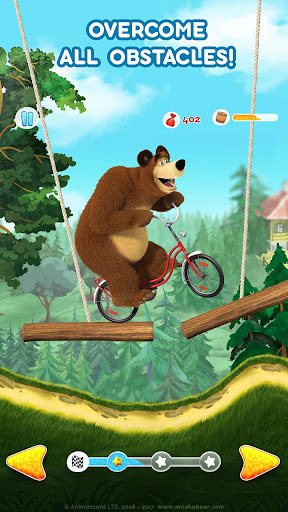 Masha and the Bear: Climb Racing and Car Games 0.0.3 screenshots 3