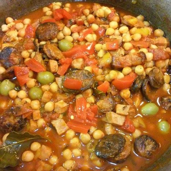 Garbanzo Stew Recipe