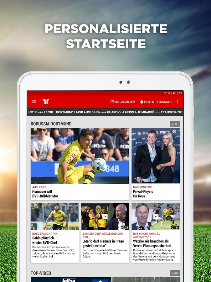 Sport BILD: News & Videos zu Bundesliga und Sport- screenshot