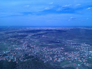 Photo: Views from the top of the TV Tower on Avala...