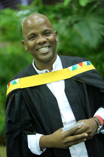 The KZN man who went from being a taxi driver to a Master of Law graduate.