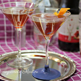 Pomegranate Martinis Recipe