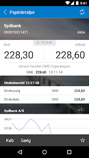 Sydbanks MobilBank- screenshot thumbnail