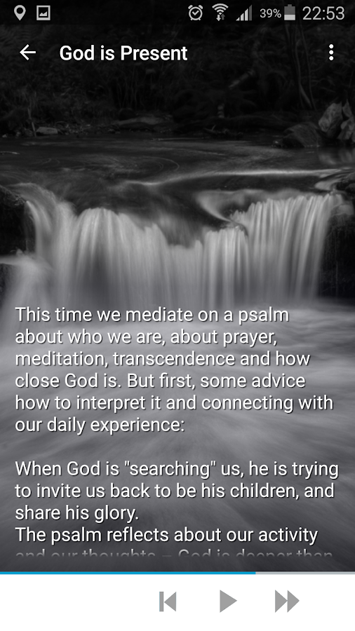 10 Christian Meditations- screenshot
