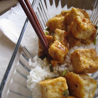 Sesame Orange Tofu