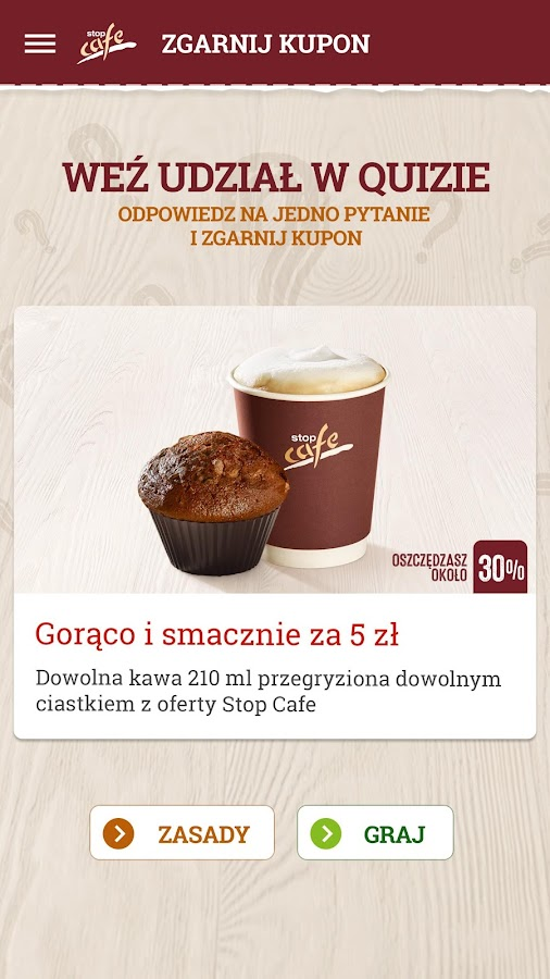 ORLEN Stop Cafe- screenshot