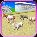 Real Farm Animal Racing 2016 icon