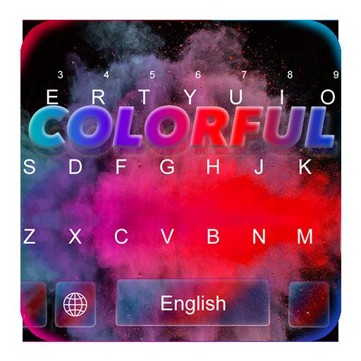 Colorful Holi Keyboard